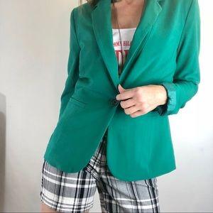 Apt 9 blazer career casual green Sz 8